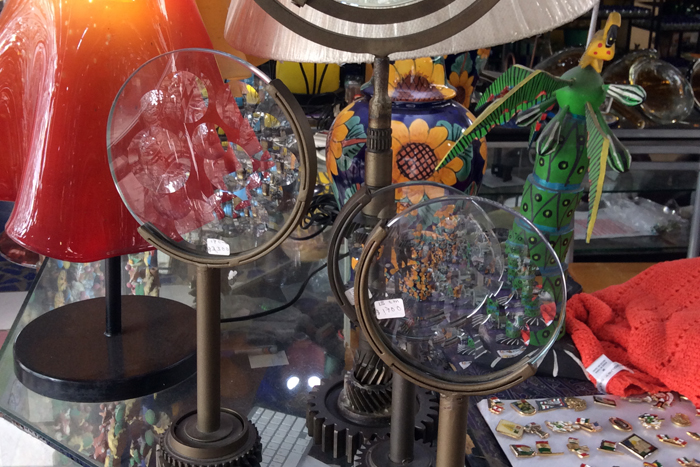 Mundo de Cristal es una tienda especializada en en vidrio soplado