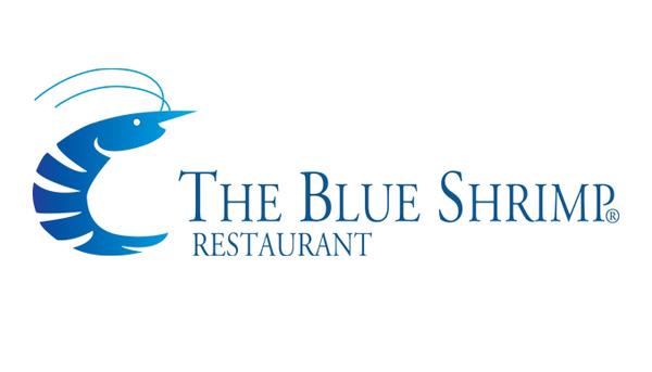 blue shrimp logo