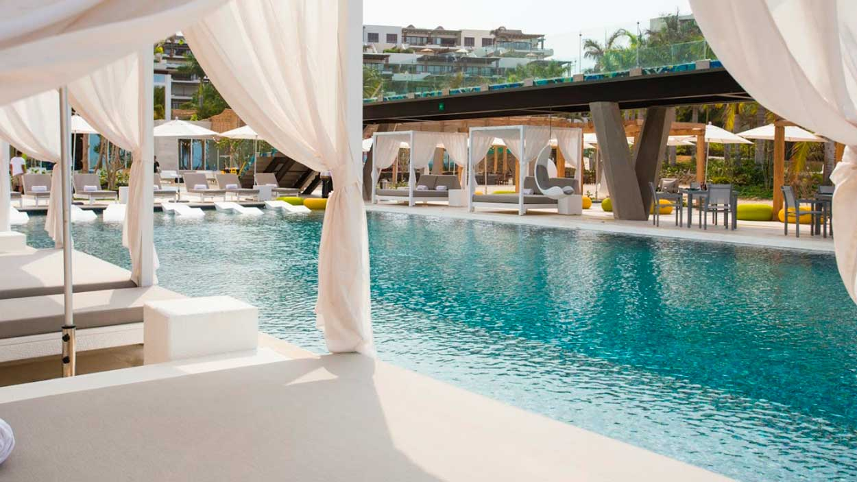 The Brand New W Punta De Mita Hotel Held An Opening Ceremony This Week In Which Starwood Hotels Property Introduced Local Personalitieembers Of