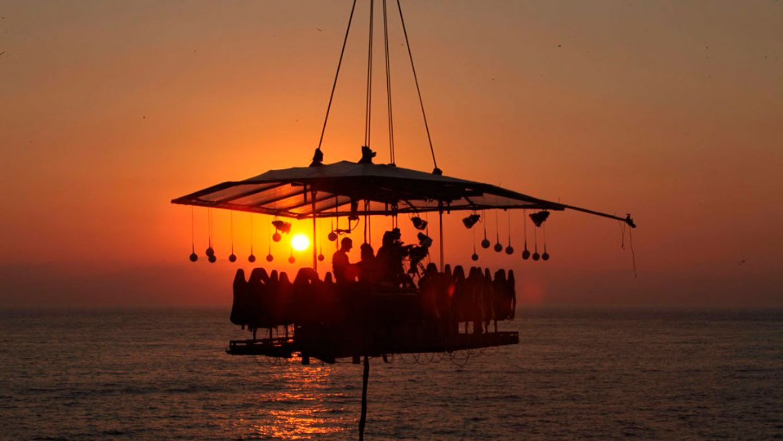 Dinner in the Sky Comes to Puerto Vallarta