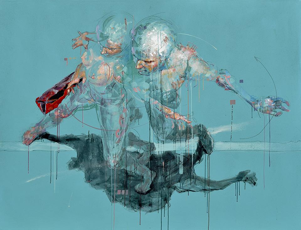 Redescubre la anatomía humana en el arte de Xolotl Polo