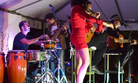 Gypsy Rumba performing at Los Arroyos Verdes.