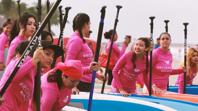 Yoga + Run + SUP at the 2nd Roxy Fitness Riviera Nayarit