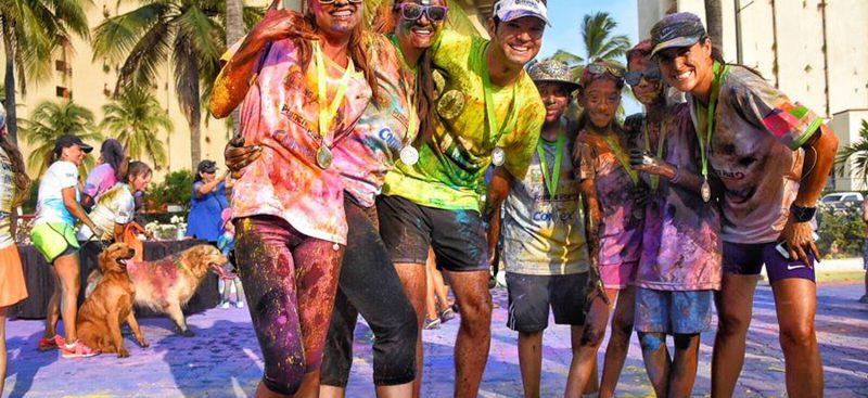 Color Running and Vallarta Color Race in Puerto Vallarta - 2