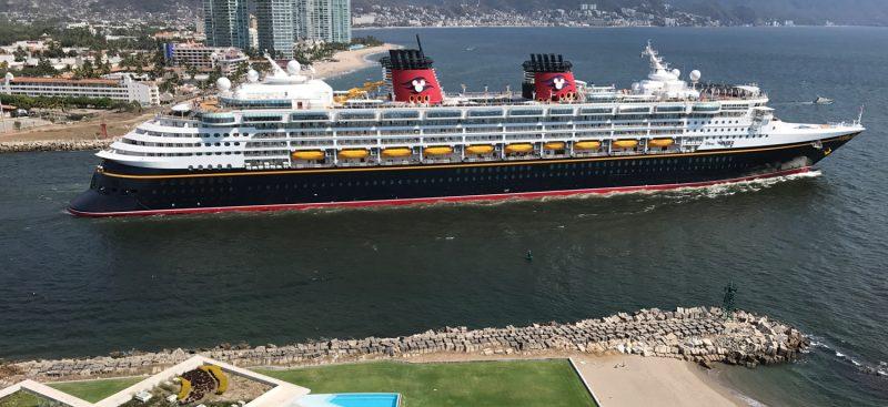 Disney Wonder Cruise Ship in Puerto Vallarta - 2
