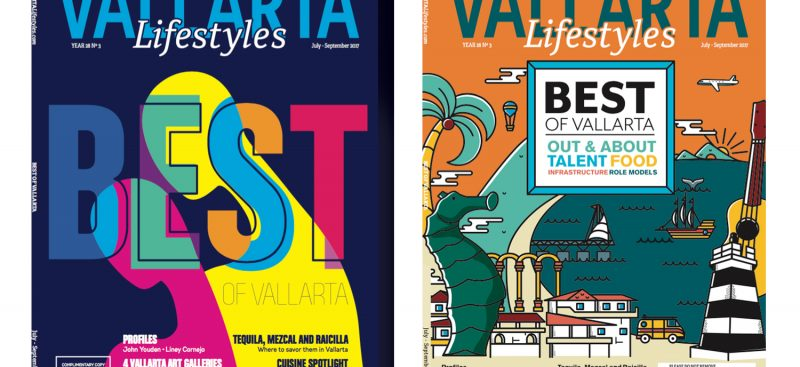 Two Different Covers Embellish Vallarta Lifestyles 'Best of Vallarta' Issue! - 2