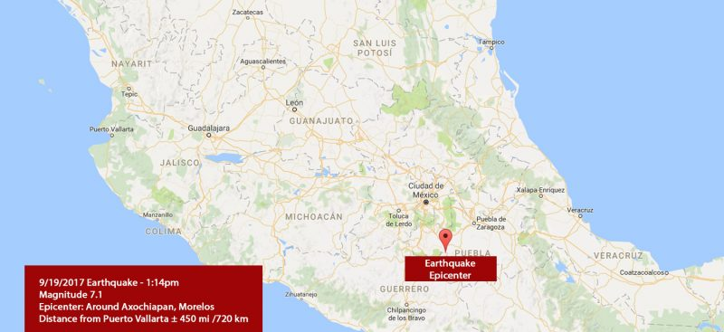 19 september earthquake Mexico - 2