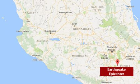19 september earthquake Mexico
