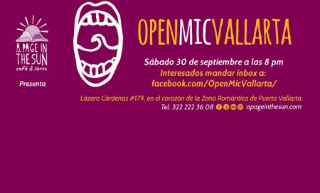 Open Mic Vallarta September