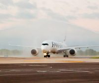 First Finnair Flight Arrives to Puerto Vallarta