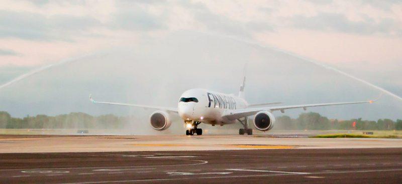 First Finnair Flight Arrives to Puerto Vallarta - 2