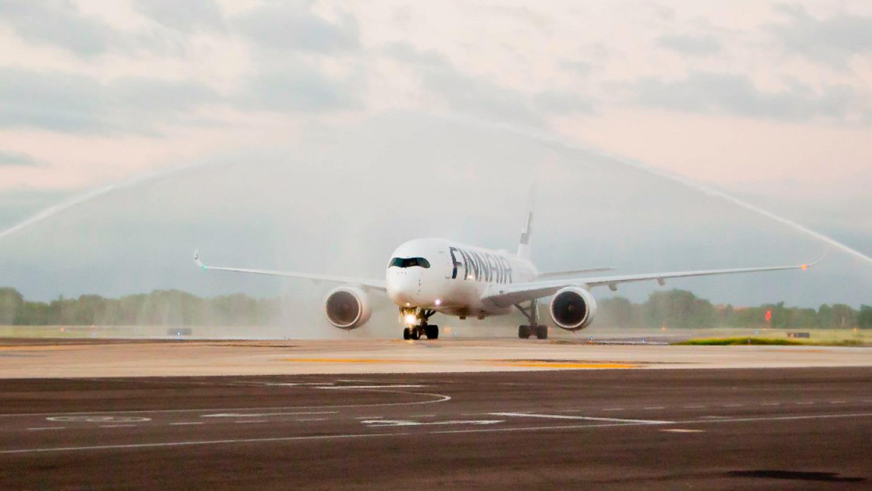 First Finnair Flight Arrives to Puerto Vallarta