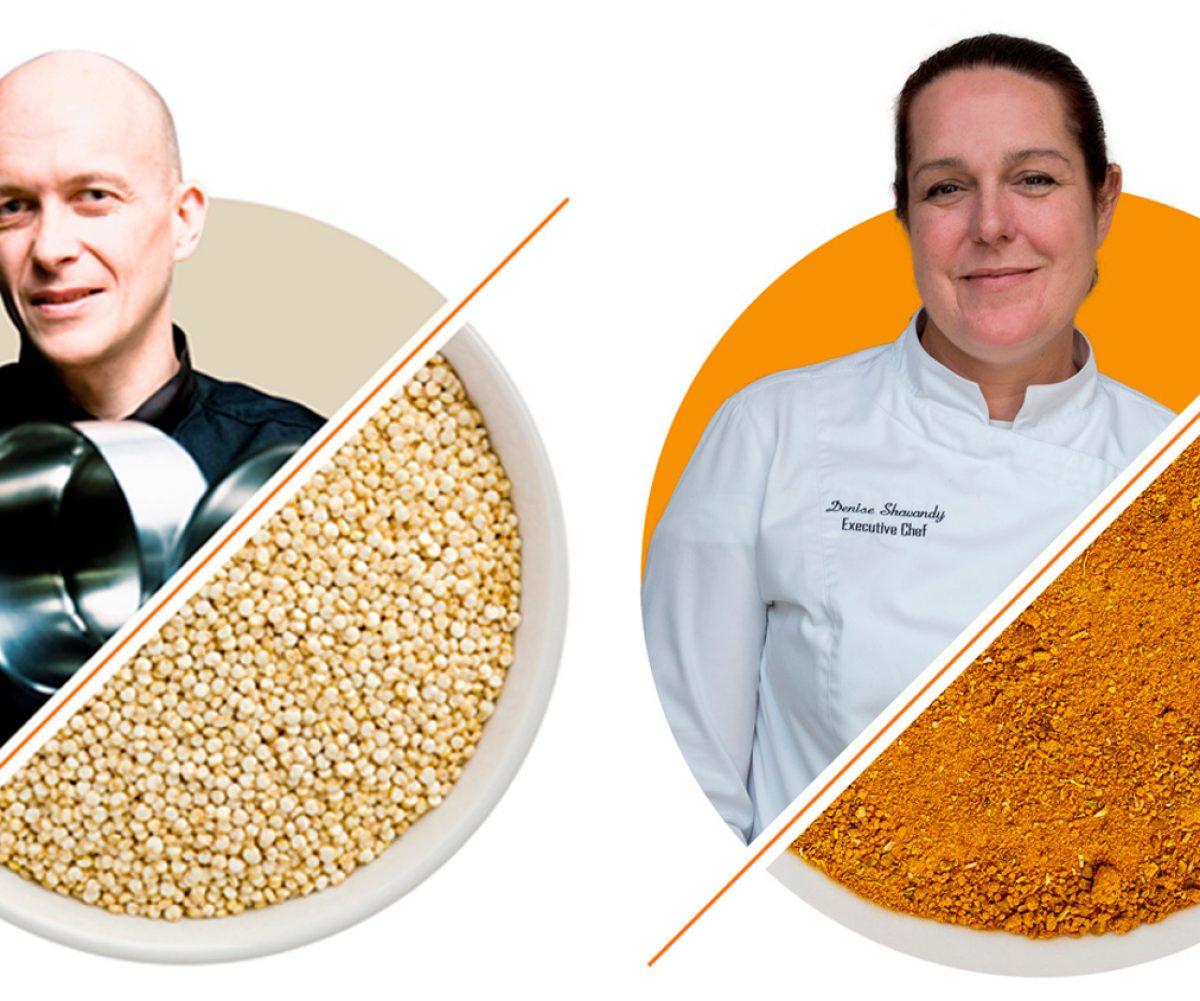 Conoce a los chefs Denise Shavandy y Eric Ponchet