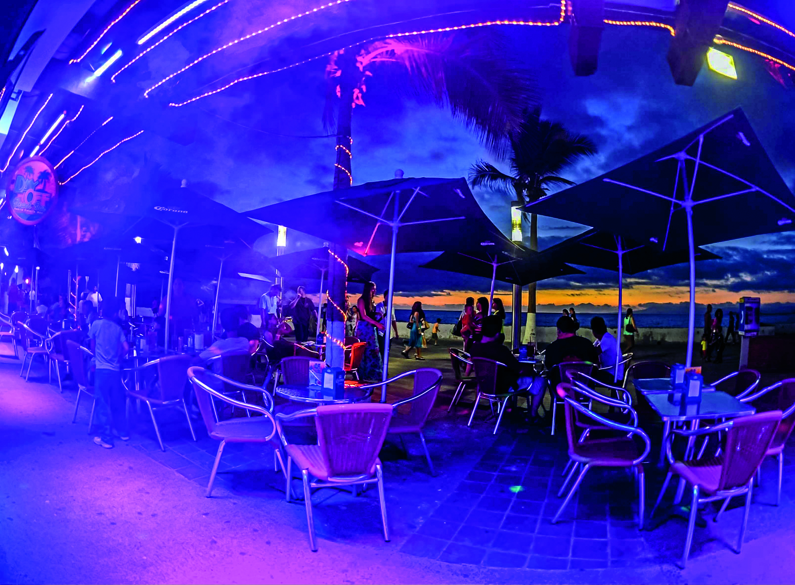 Day Off Beach Bar Outdoor Night Life