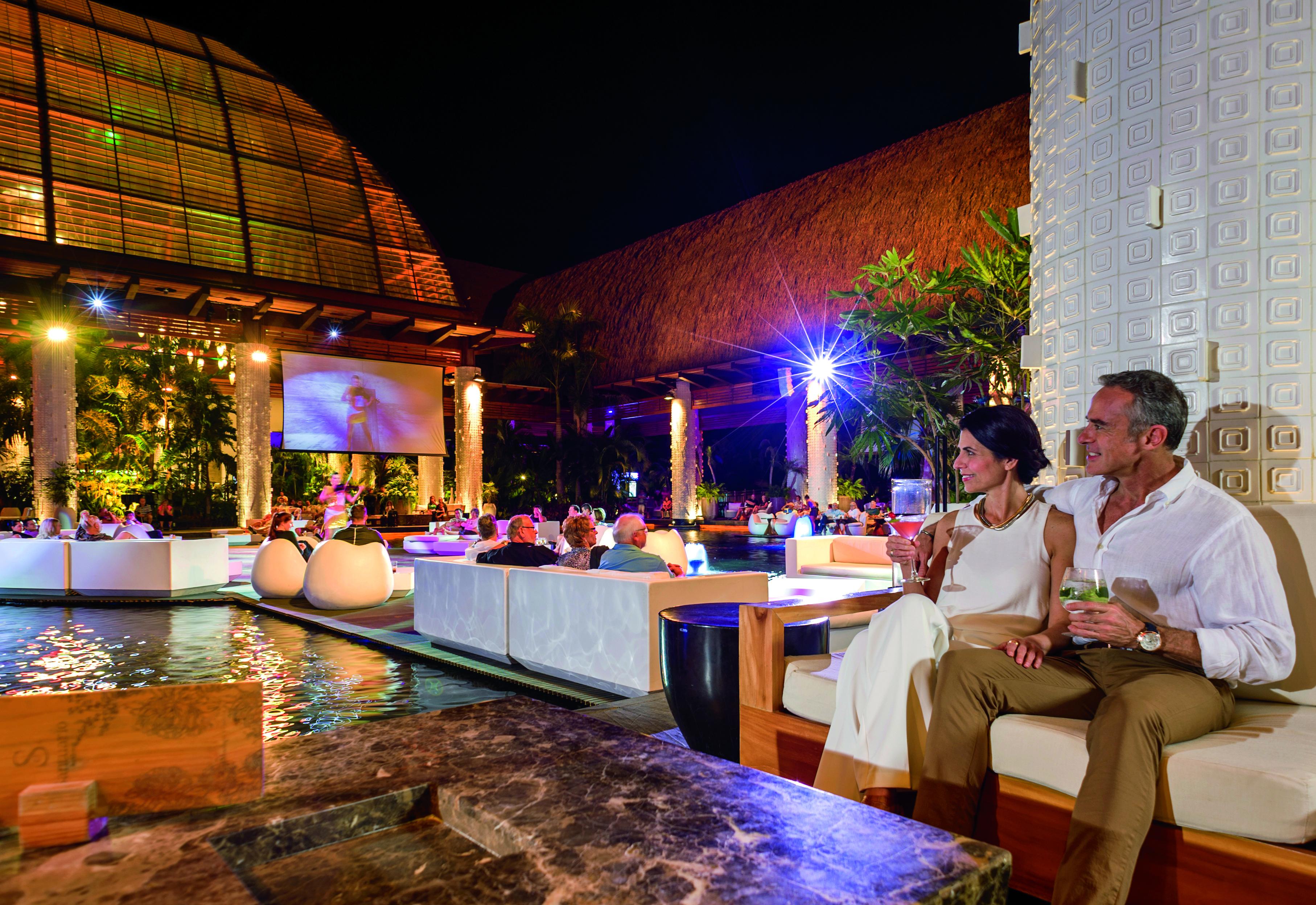 Santuario Vidanta Outdoor Night Life
