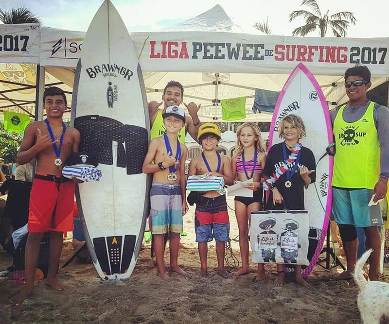 Liga Pee Wee reunirá a entusiastas del surf en Sayulita