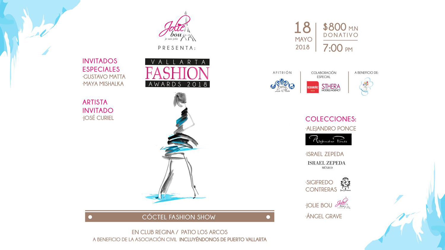 Vallarta Fashion Awards 2018