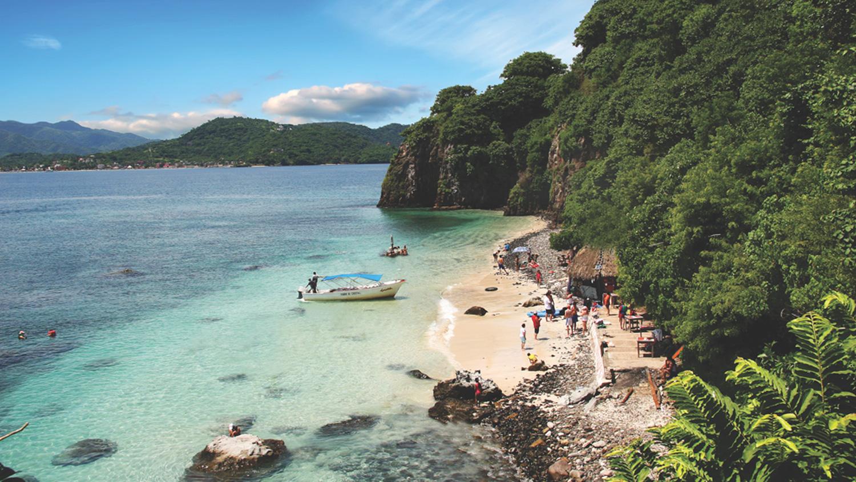 Isla del Coral and Rincón de Guayabitos