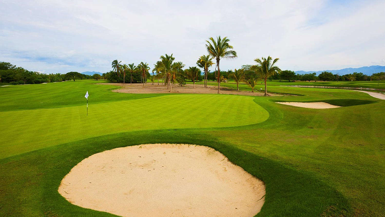 6 destacados campos de golf en vallarta · nayarit