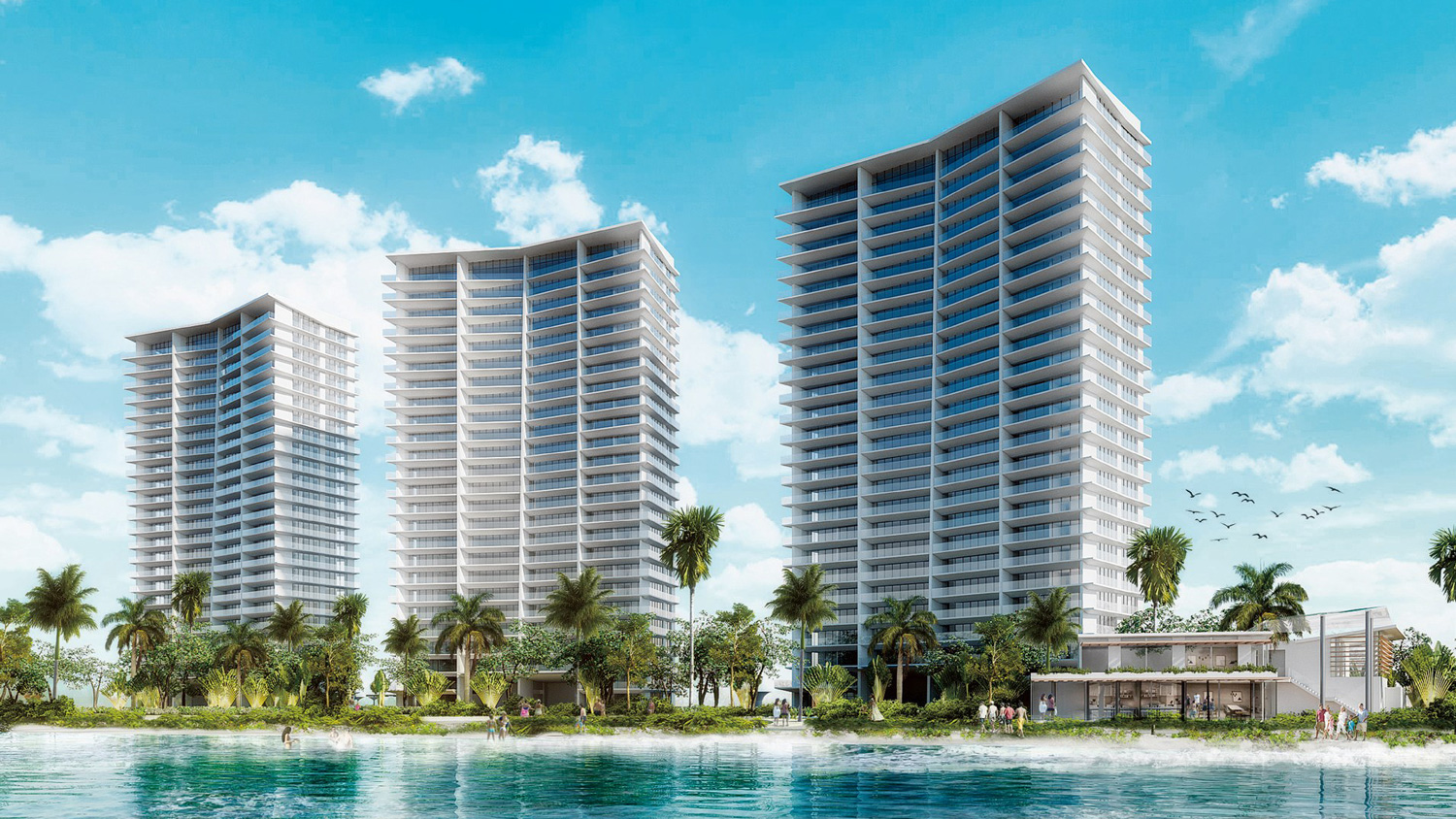 marina towers development
