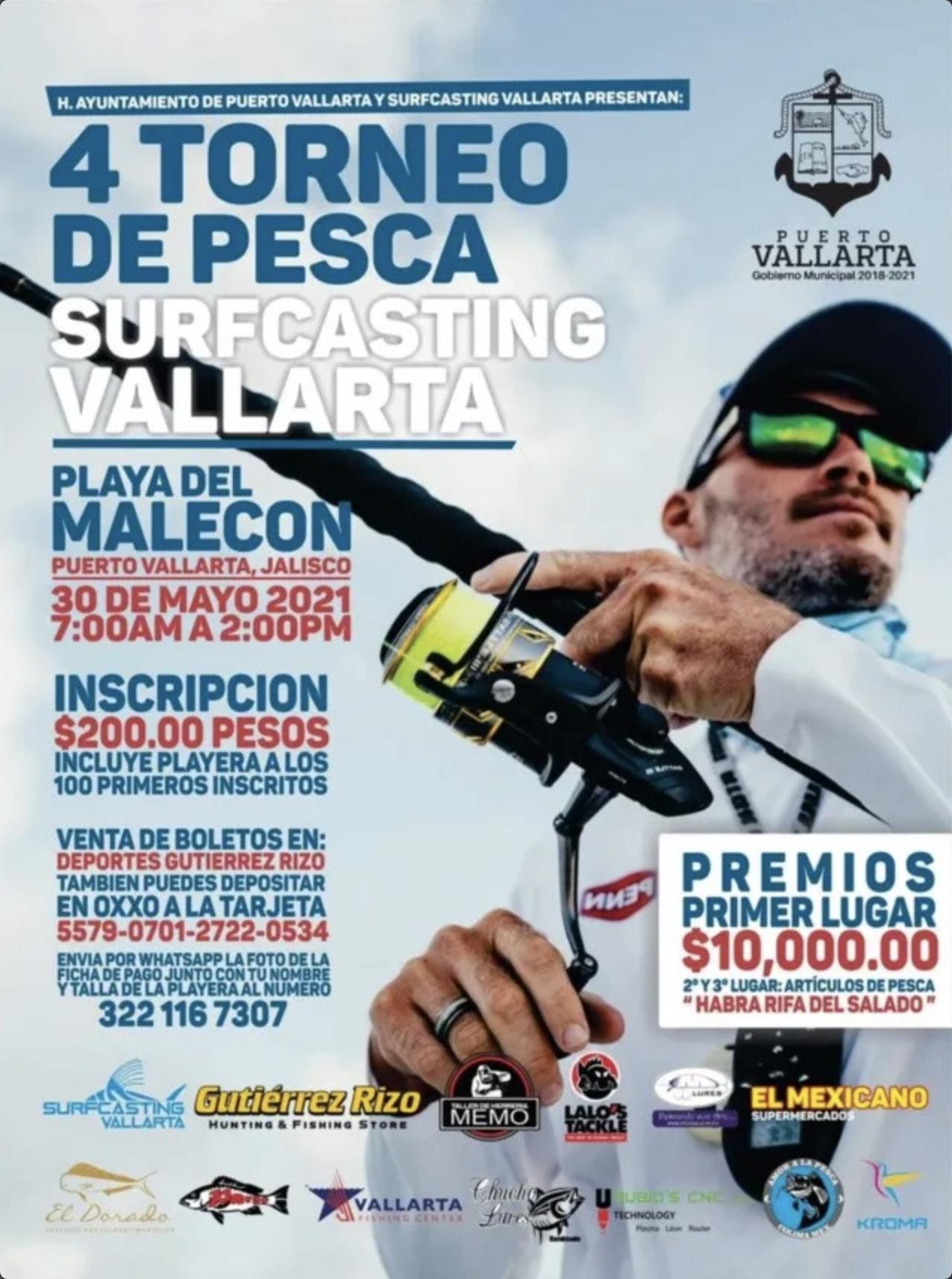 4º torneo de pesca surfcasting vallarta